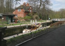 Sonning Lock on the River Thames
