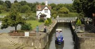 Goring Lock on the River Thames