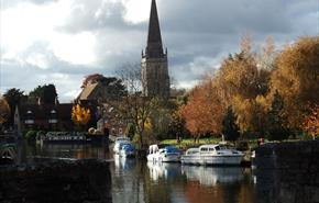 The River Thames at Abingdon