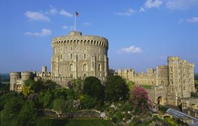 Windsor Castle.  Royal Collection Trust / © Her Majesty Queen Elizabeth II 2014.