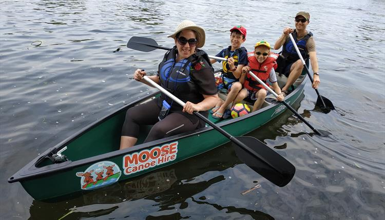 Moose Canoe and SUP Hire
