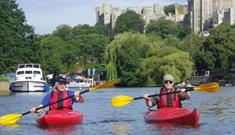 Windsor Kayak Tour For Two With Bubbly