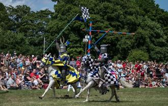 Medieval Jousting at Stonor Park