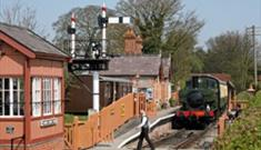 Train at Chinnor Station by Rich Evans