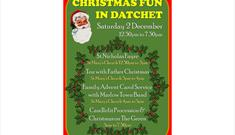 Christmas Fun in Datchet 2017