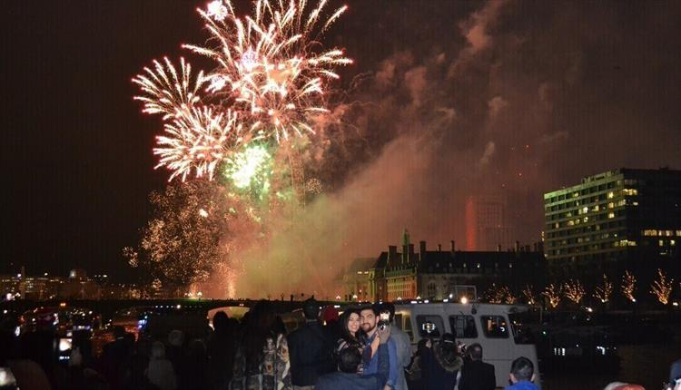 London's NYE Stargazer Cruise on the Thames with City Cruises