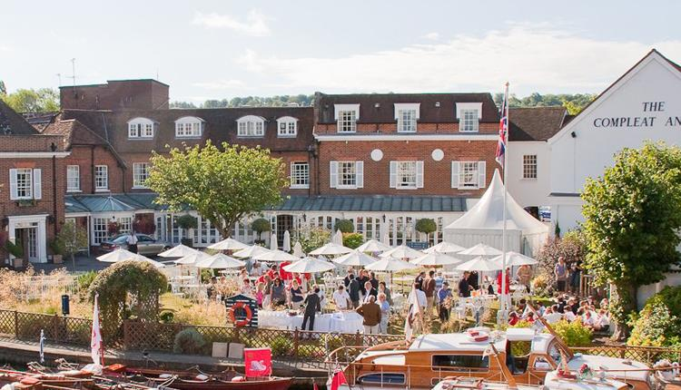 Compleat Angler On The Lawn at Macdonald Compleat Angler