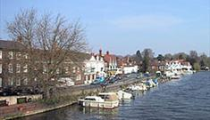 Henley Moorings (courtesy Henley Town Council)