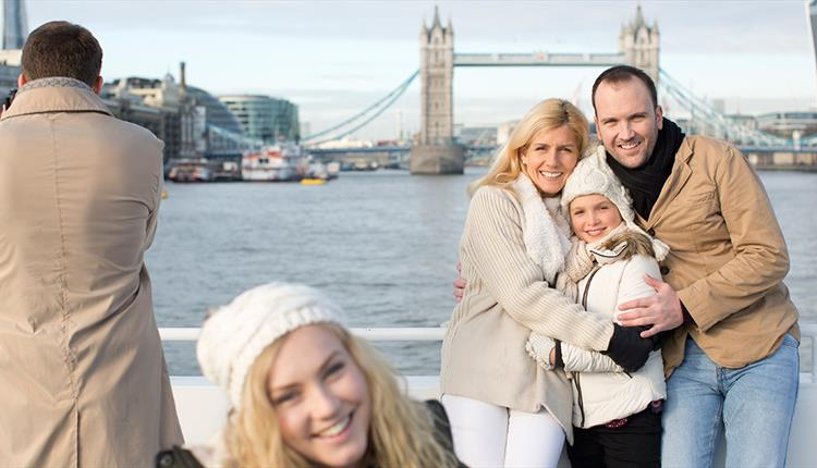 Christmas Day Cruise on the Thames in London