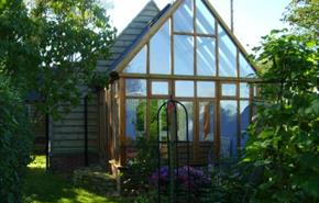 Green Cottage conservatory