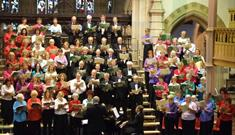 The Royal Free Singers and the Orchestra of London perform works by Elgar